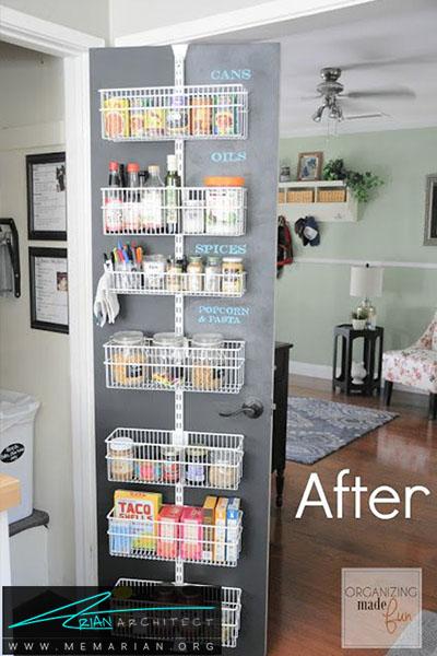 بهترین استفاده از یک تخته چوبی سیاه - 16 ایده برای دکوراسیون قفسه آشپزخانه