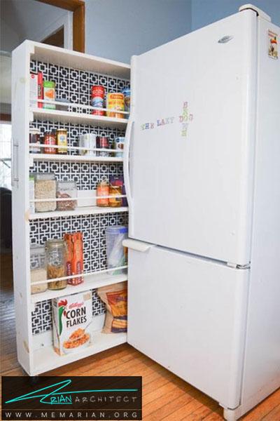 بهترین استفاده از یک فضای کوچک - 16 ایده برای دکوراسیون قفسه آشپزخانه