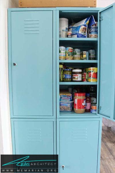 قفسه کمدی برای نگهداری ظروف - 16 ایده برای دکوراسیون قفسه آشپزخانه