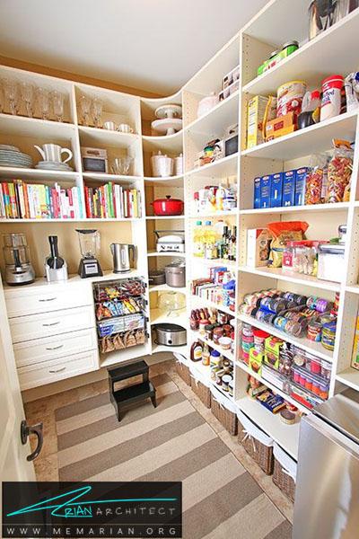 دکوراسیون شلوغ و زیبای فانتزی - 16 ایده برای دکوراسیون قفسه آشپزخانه