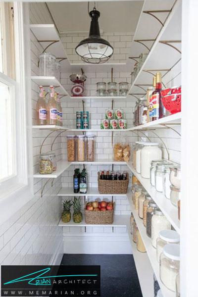 بهترین استفاده از کاشی های ریلی - 16 ایده برای دکوراسیون قفسه آشپزخانه