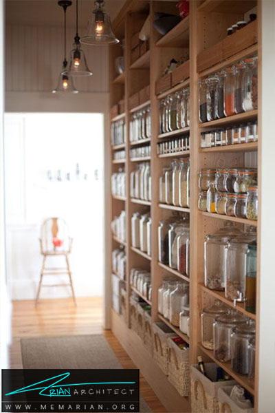بهترین استفاده از چوب طبیعی - 16 ایده برای دکوراسیون قفسه آشپزخانه