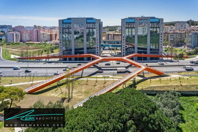 پل پونته سگوندا سیرکولار - 18 پل پیاده روی با طراحی های شگفت انگیز در جهان