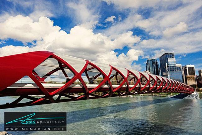 پل صلح - 18 پل پیاده روی با طراحی های شگفت انگیز در جهان