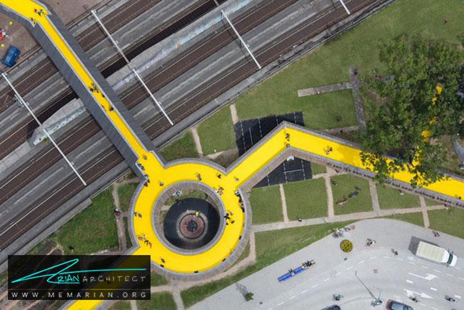 پل لخت سینگل- 18 پل پیاده روی با طراحی های شگفت انگیز در جهان