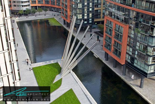 پل بادبزنی لندن - 18 پل پیاده روی با طراحی های شگفت انگیز در جهان