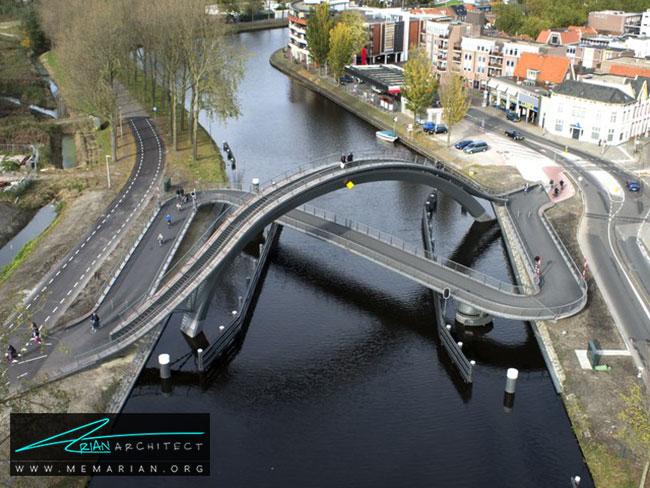 پل راه شیری - 18 پل پیاده روی با طراحی های شگفت انگیز در جهان