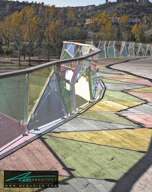 پل پدرو و اینس - 18 پل پیاده روی با طراحی های شگفت انگیز در جهان