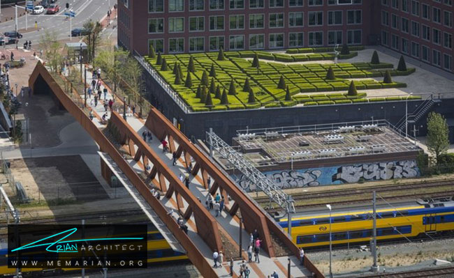 پل کاخ - 18 پل پیاده روی با طراحی های شگفت انگیز در جهان