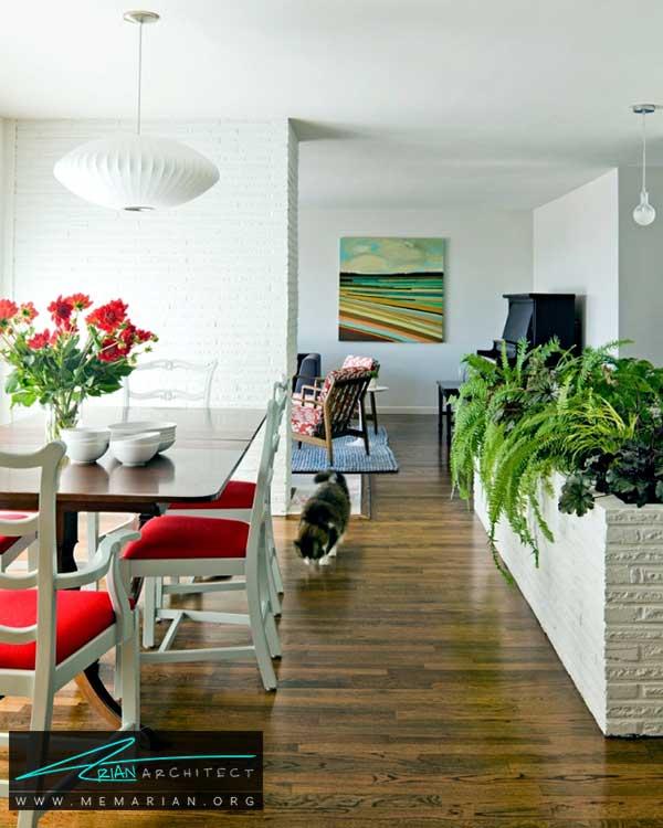 گیاهان هماهنگ با بافت دکوراسیون - ایده های چیدمان گل و گیاه در دکوراسیون داخلی منزل