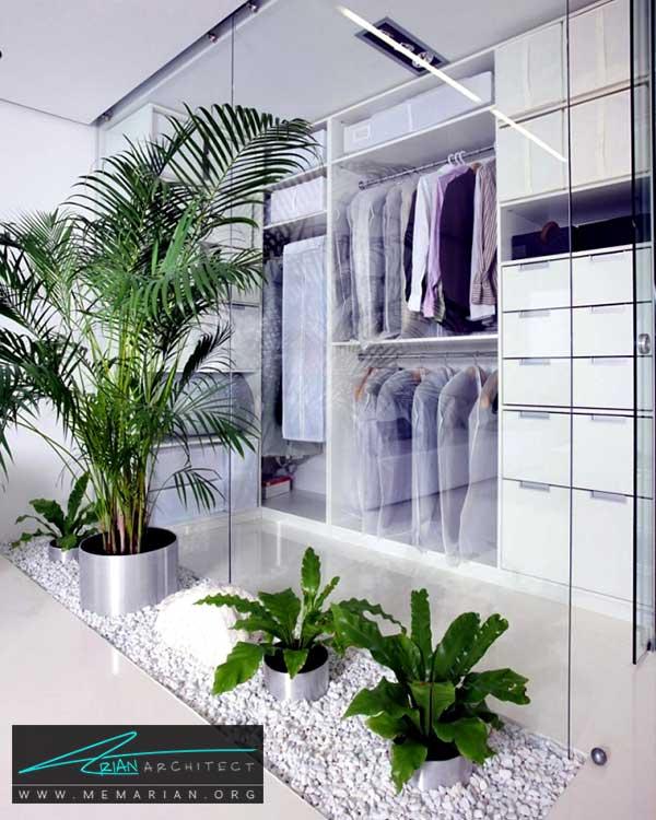 گل و گیاه در اتاق خواب - ایده های چیدمان گل و گیاه در دکوراسیون داخلی منزل