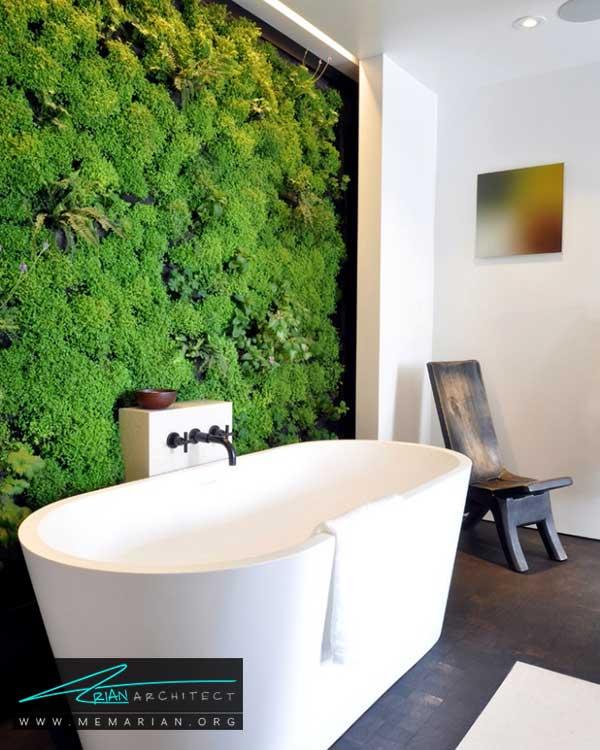 دیوار سبز در دکوراسیون داخلی- ایده های چیدمان گل و گیاه در دکوراسیون داخلی منزل