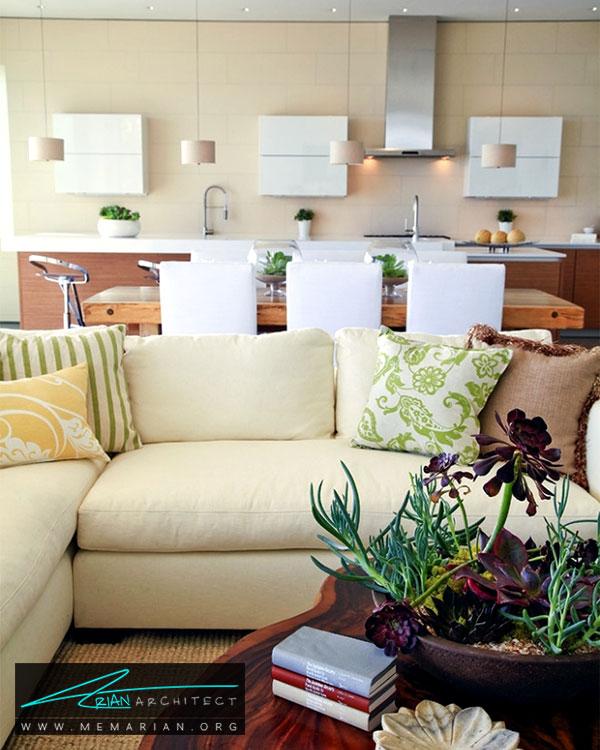 گیاهان در فضاهای مختلف خانه - ایده های چیدمان گل و گیاه در دکوراسیون داخلی منزل