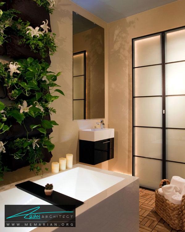 دیوارهای سبز در دکوراسیون مدرن خانه - ایده های چیدمان گل و گیاه در دکوراسیون داخلی منزل