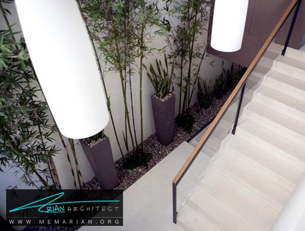 دکوراسیون ورودی با گل و گیاه - ایده های چیدمان گل و گیاه در دکوراسیون داخلی منزل