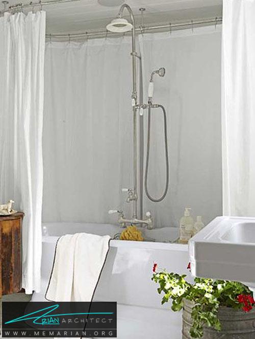 اتاق حمام مدرن و قدیمی - دکوراسیون اتاق