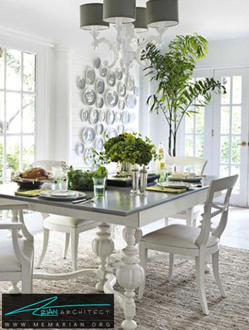 همه چیز را سفید کن - دکوراسیون اتاق