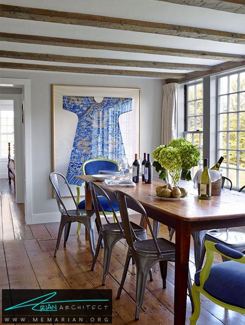 ترکیب و هماهنگی صندلی ها -دکوراسیون اتاق