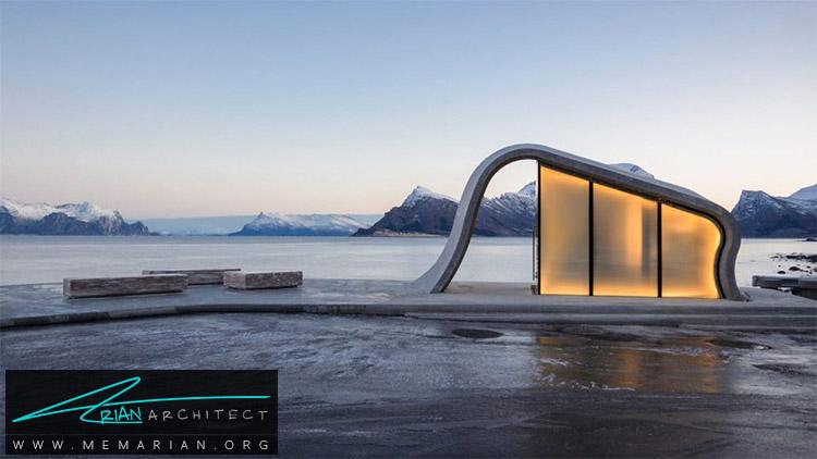 معماری استراحتگاه Ureddplassen توسط Haugen / Zohar Arkitekter -معماری استراحتگاه