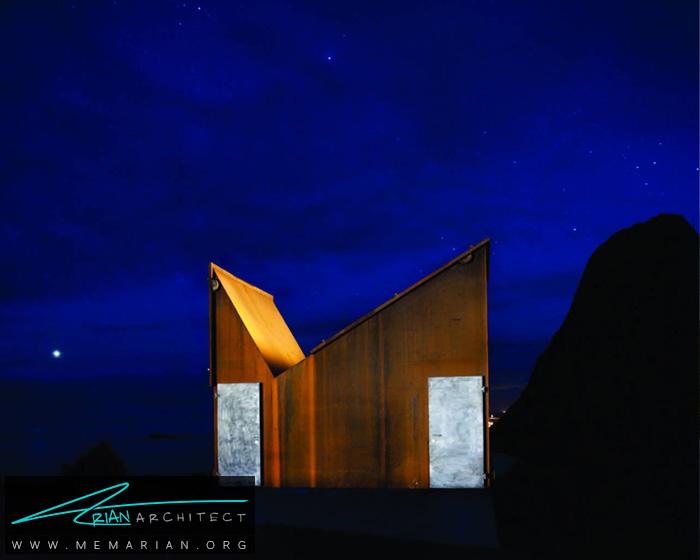 اقامتگاهAkkarvikoddenتوسط معماران ماندی کولا -معماری استراحتگاه