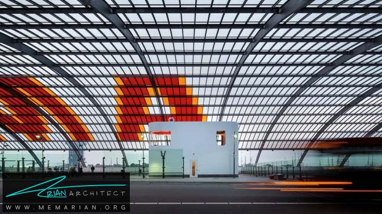 استراحتگاه رانندگان اتوبوس توسط معماران Benthem Crewel -معماری استراحتگاه