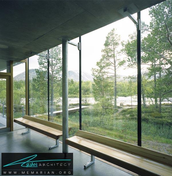 معماری استراحتگاهStrømbuتوسطCarl-Viggo Hølmebakk -معماری استراحتگاه
