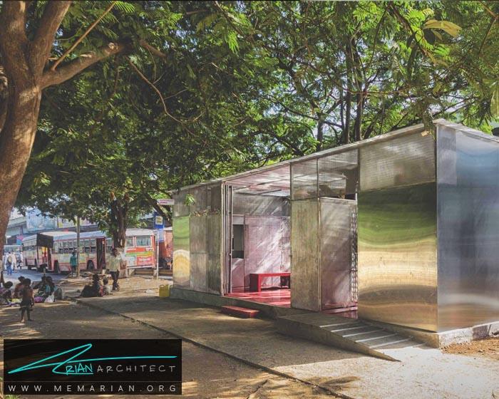 معماری جعبه نوری توسط روحان چوان -معماری استراحتگاه