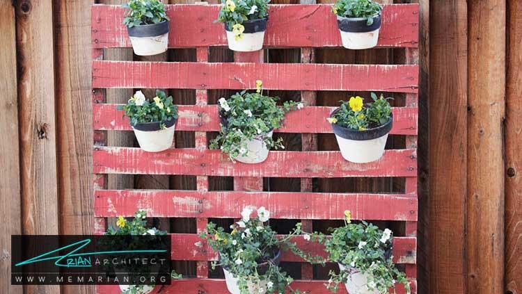 گیاهان عمودی - چگونه حیاط منزل خود را با ایده های ساده و ارزان قابل استفاده کنیم؟