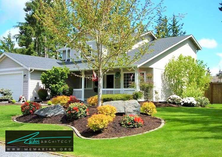 گل های رنگارنگ - چگونه حیاط منزل خود را با ایده های ساده و ارزان قابل استفاده کنیم؟