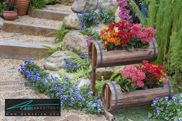 جعبه های چوبی - چگونه حیاط منزل خود را با ایده های ساده و ارزان قابل استفاده کنیم؟