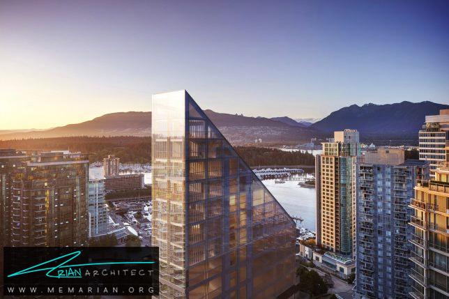 خانه تراس در ونکوور- برج چوبی
