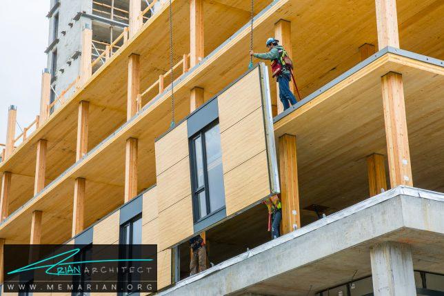 بلندترین ساختمان ساخته شده چوبی در جهان، ونکوور- برج چوبی