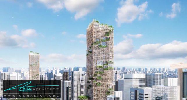 برج Nikel Timber Tower در توکیو- برج چوبی