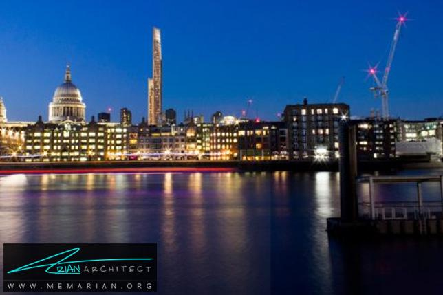 برج چوبی Oakwood در لندن- برج چوبی