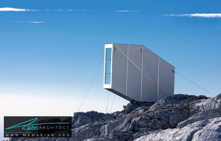 کابین معلق در اسلوونی - 10 منظره زیبا از مرتفع ترین خانه های جهان