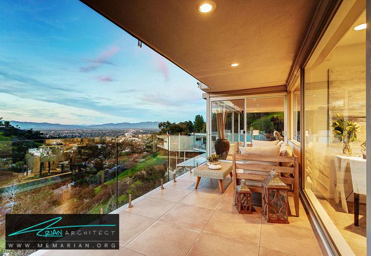 خانه ای در پارک شرمن کالیفرنیا - 10 منظره زیبا از مرتفع ترین خانه های جهان