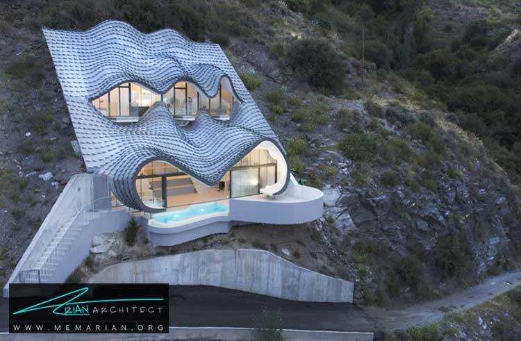 خانه ای بر روی صخره در اسپانیا - 10 منظره زیبا از مرتفع ترین خانه های جهان