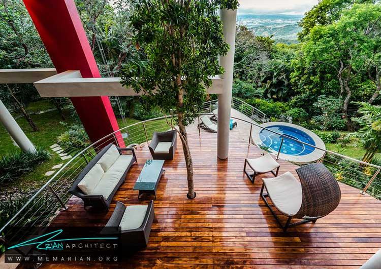 خانه ای با منظره زیبا در سان خوزه - 10 منظره زیبا از مرتفع ترین خانه های جهان