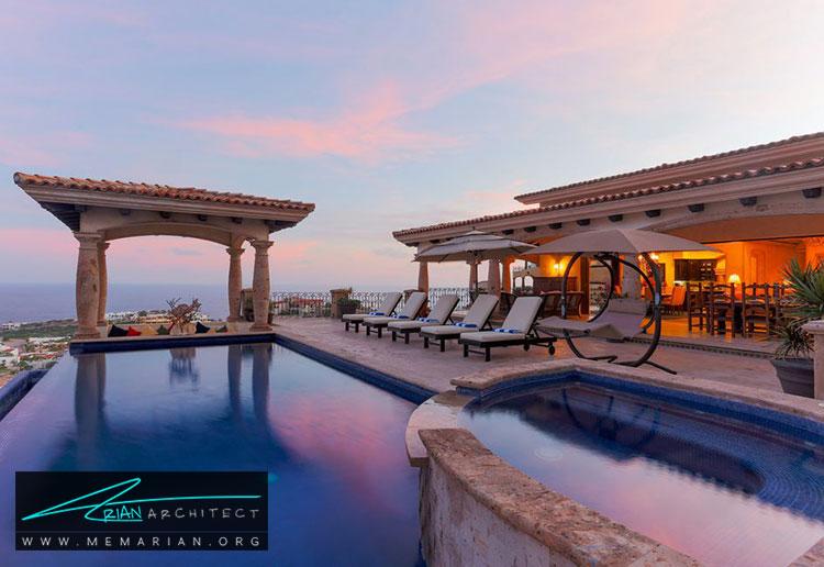 خانه ای با منظره زیبا در مکزیک - 10 منظره زیبا از مرتفع ترین خانه های جهان