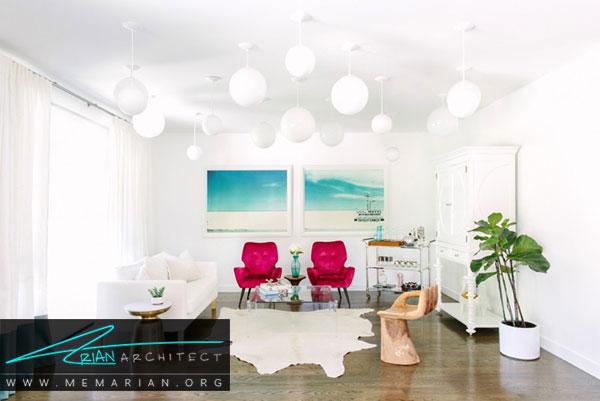 دکوراسیون سفید در خانه- دکوراسیون رنگ سفید و اثرات روانشناسی آن