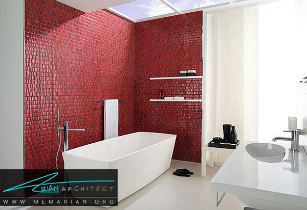 دکوراسیون سفید در خانه- رنگ سفید در دکوراسیون حمام
