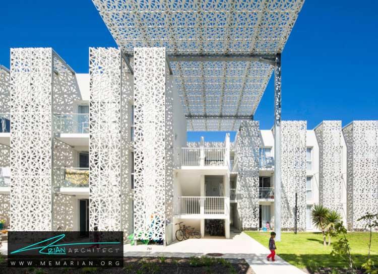 نمای ساختمان هتل نکارا در فرانسه - 10 ساختمان مدرن با نمای خیره کننده