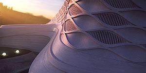 طراحی معماری و دکوراسیون داخلی مجتمع تفریحی ورزشی المپیک بابل