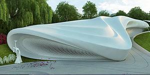طراحی معماری و نمای بیرونی تالار عروسی در کاشان