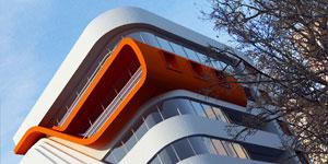 طراحی معماری و نمای ساختمان مسکونی و آپارتمانی در ارومیه