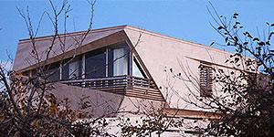 طراحی معماری و نمای بیرونی ویلا در هشتگرد تهران