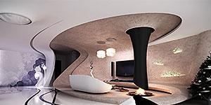 طراحی معماری داخلی و دکوراسیون منزل مسکونی در ارومیه