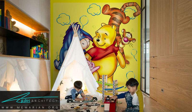 نمونه پوستر دیواری اتاق کودک (11)