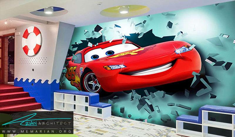نمونه پوستر دیواری اتاق کودک (14)