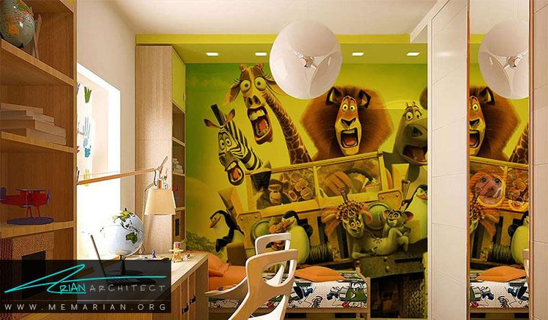 نمونه پوستر دیواری اتاق کودک (1)